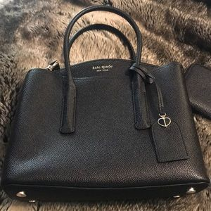 Authentic Kate Spade satchel and matching wallet